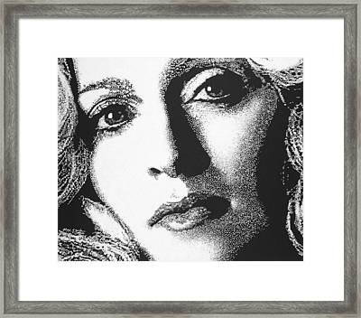 Madonna Framed Print by Max Eberle