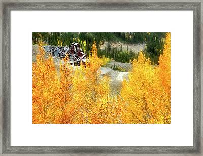 Framed Print featuring the photograph Madonna Mine - Monarch Pass - Colorado by Jason Politte