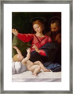 Madonna Of Loreto Framed Print
