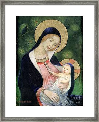 Madonna Of The Fir Tree Framed Print