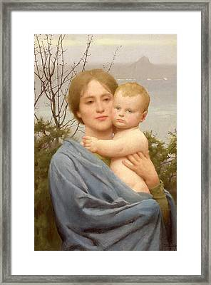 Madonna Of The Mount  Framed Print