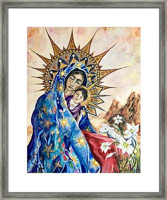 Madonna Of The Unescorted  Framed Print