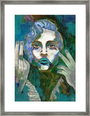 Madonna Vogue II Framed Print
