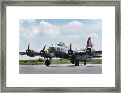 Madras Maiden B-17 Framed Print
