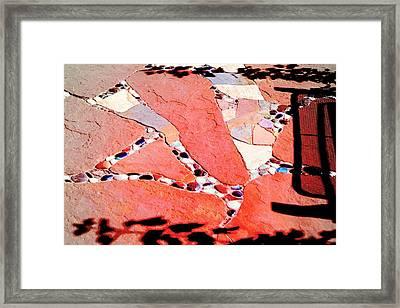 Madrid Mosaic.. Framed Print by Al  Swasey