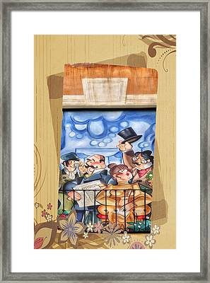 Madrid Wall Art Framed Print by Joan Carroll