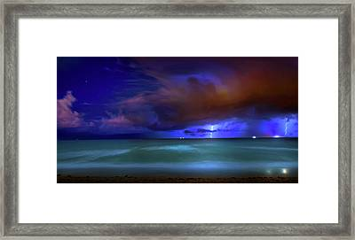 Maelstrom Framed Print by Mark Andrew Thomas