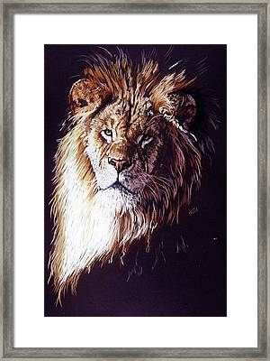 Framed Print featuring the drawing Maestro by Barbara Keith