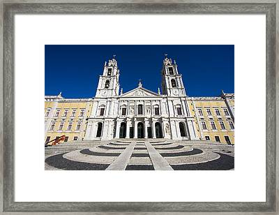 Mafra Palace Framed Print by Andre Goncalves