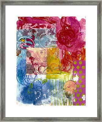Magali Framed Print by Gloria Von Sperling