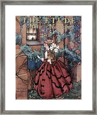 Magazine: The Etude, 1932 Framed Print by Granger