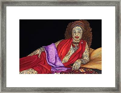 Magdalena Framed Print by Tina Blondell