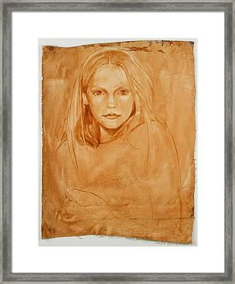 Magdeline Framed Print