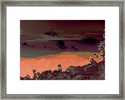 Magellan's Final Twilight 2016 Framed Print by James Warren
