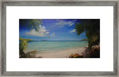 Magens Bay Framed Print