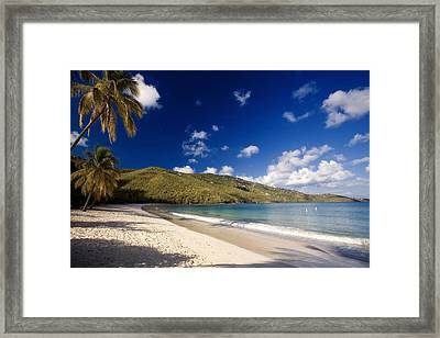 Magens Bay Morning St Thomas Us Virgin Islands Framed Print by George Oze