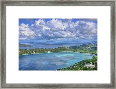 Magens Bay  Framed Print