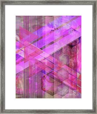 Magenta Haze Framed Print by John Robert Beck