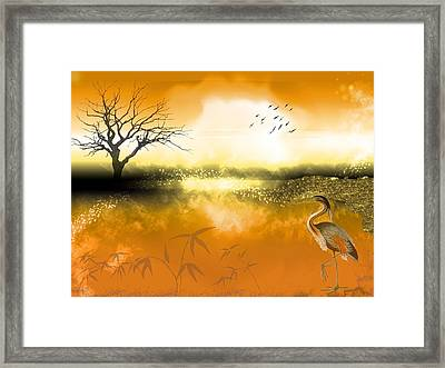 Magestic Waters Framed Print