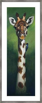 Maggie Framed Print by Greg Neal