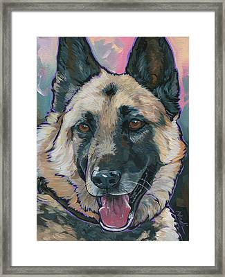 Maggie Framed Print by Nadi Spencer