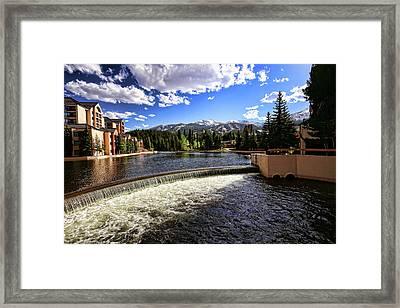 Maggie Pond In Breckenridge Colorado Framed Print