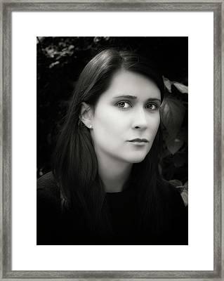 Maggie Framed Print by Robert Ullmann