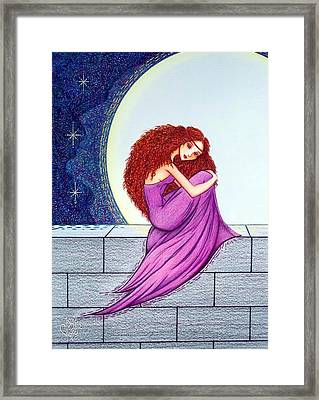 Maggie's Lullaby Framed Print by Danielle R T Haney
