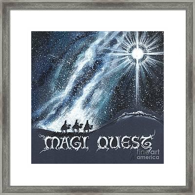 Magi Quest Framed Print