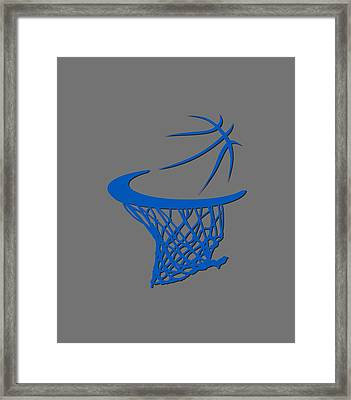 Magic Basketball Hoop Framed Print