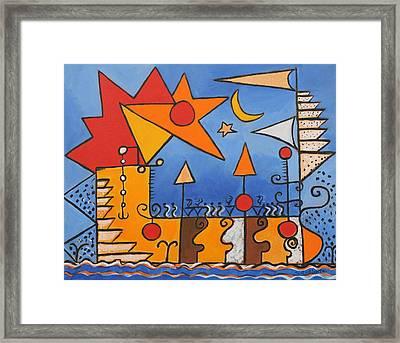 Magic Boat Framed Print by Susan Rinehart