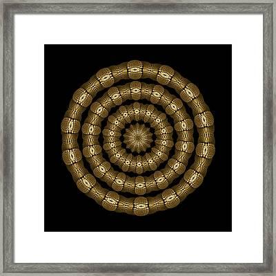 Magic Brass Rings Framed Print