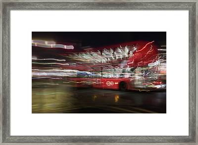 Framed Print featuring the photograph Magic Bus by Alex Lapidus