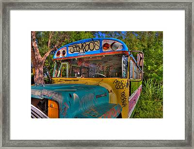 Magic Bus Framed Print