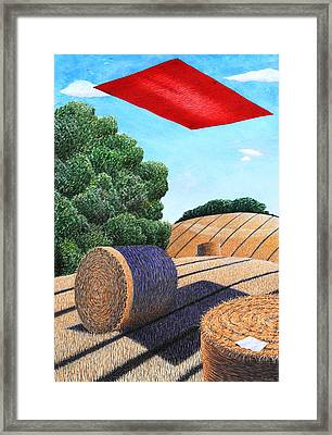 Magic Carpet Landscape Ride Framed Print by Adrian Jones