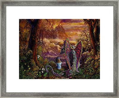 Magic Evening Framed Print