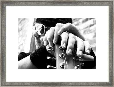 Magic Fingers Framed Print by Beverly Hammond