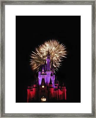 Magic Fireworks Framed Print by Andrew Soundarajan