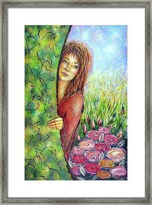 Magic Garden 021108 Framed Print