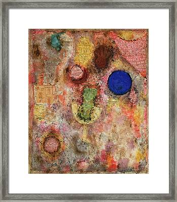 Magic Garden Framed Print by Paul Klee