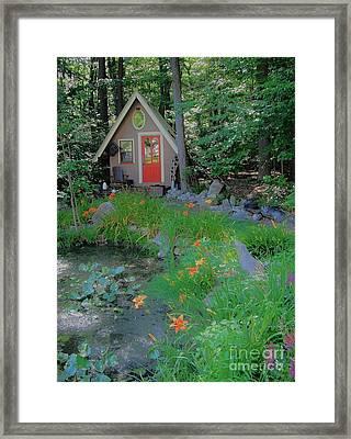 Framed Print featuring the photograph Magic Garden by Susan Carella