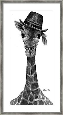 Magic Hat Framed Print by J Ferwerda