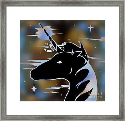 Magic Horn Framed Print by Robert Ball