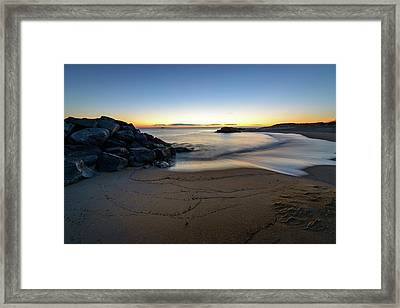 Magic Hour Framed Print