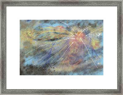 Magic In The Skies Framed Print by Angela A Stanton