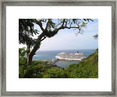 Magic Landscape Framed Print
