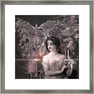 Magic Lute Framed Print by Rosemary Smith