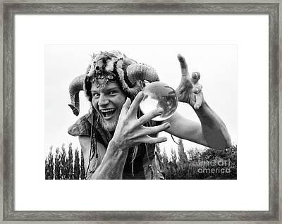 Magic Man Framed Print by Bob Christopher