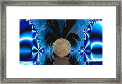 Magic Moon Framed Print