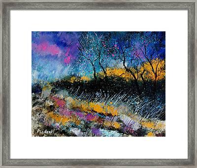 Magic Morning Light Framed Print by Pol Ledent